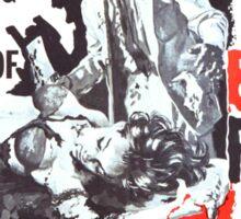 Blood Feast Poster Sticker