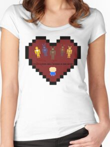 The monsters (FNAF Animatronics) Women's Fitted Scoop T-Shirt