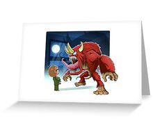 Red Mambo Greeting Card
