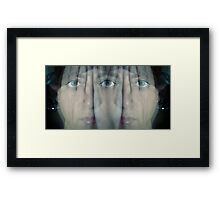 Long Exposed Surrealism Framed Print