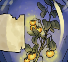 Jarred Specimen: Glowing Plant Sticker