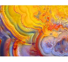 Rolling In (Lace Agate) Photographic Print
