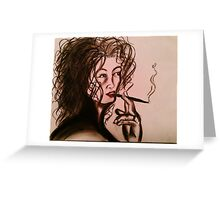 JoAnna's Red Lips Greeting Card