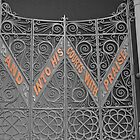 Quotation on Church Gate by lezvee