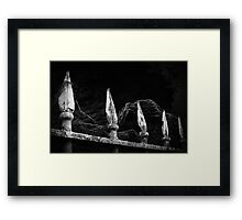Master of My Fate Framed Print