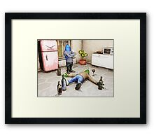 You've Been Drinking Again, Haven't You? Framed Print