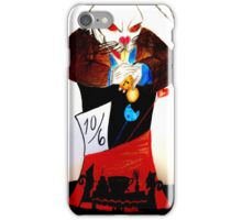 evil rabbit iPhone Case/Skin