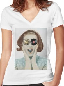 days gone by Women's Fitted V-Neck T-Shirt