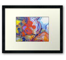 Best Laid Plans (Lace Agate) Framed Print