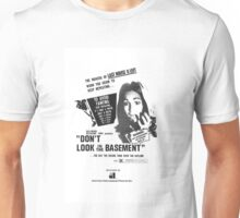 Don't Look in The Basement Poster Unisex T-Shirt