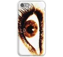 smokey eyes iPhone Case/Skin