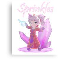 Chibi Gnome Mage - Sprinkles Metal Print