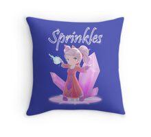Chibi Gnome Mage - Sprinkles Throw Pillow