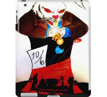 evil rabbit iPad Case/Skin