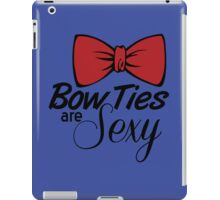 Bow Ties Are Sexy iPad Case/Skin