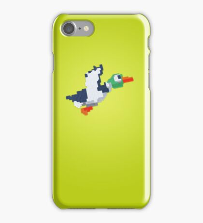 8-Bit Duck - Yellow iPhone Case/Skin