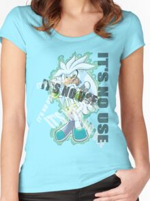Sonic The Hedgehog [2006]: It's No Use! Women's Fitted Scoop T-Shirt