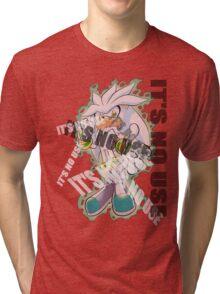 Sonic The Hedgehog [2006]: It's No Use! Tri-blend T-Shirt
