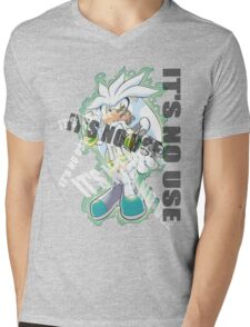 Sonic The Hedgehog [2006]: It's No Use! Mens V-Neck T-Shirt