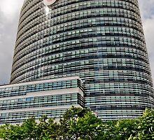 The New Vodafone Building in Düsseldorf, Germany. by David A. L. Davies