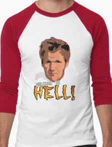 GORDON RAMSAY - WELCOME TO HELL! Men's Baseball ¾ T-Shirt