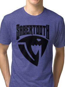 Sabertooth (Black) Tri-blend T-Shirt