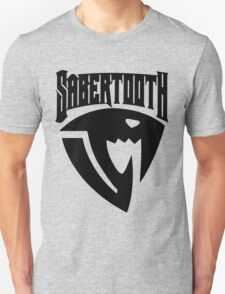 Sabertooth (Black) Unisex T-Shirt