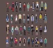 Pixel people by Cherries