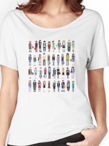 Pixel people Women's Relaxed Fit T-Shirt