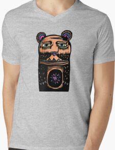 Abner Sandros Mens V-Neck T-Shirt