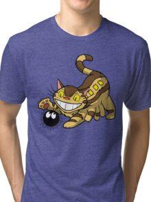 Kitten Bus! Tri-blend T-Shirt
