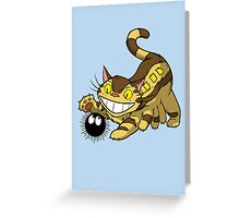 Kitten Bus! Greeting Card