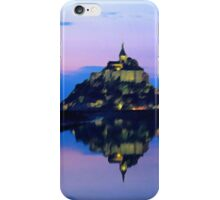 Mont St. Michel  iPhone Case/Skin