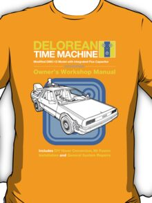 Time Machine Manual T-Shirt