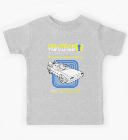 Time Machine Manual Kids Tee
