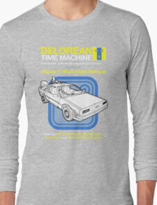 Time Machine Manual Long Sleeve T-Shirt