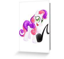 Crystal Sweetie Belle Greeting Card