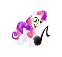 Crystal Sweetie Belle Photographic Print
