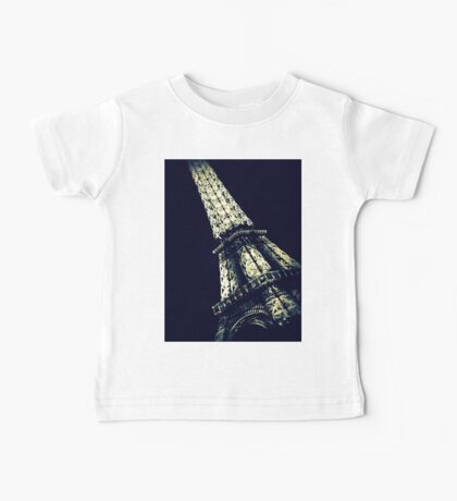 Eiffel Tower Baby Tee