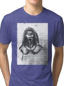 religous girl Tri-blend T-Shirt