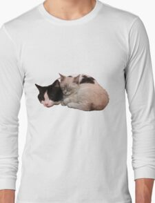 Sleeping Kittens Long Sleeve T-Shirt