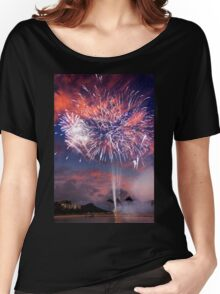 7:45 PM Hawaii Time Women's Relaxed Fit T-Shirt