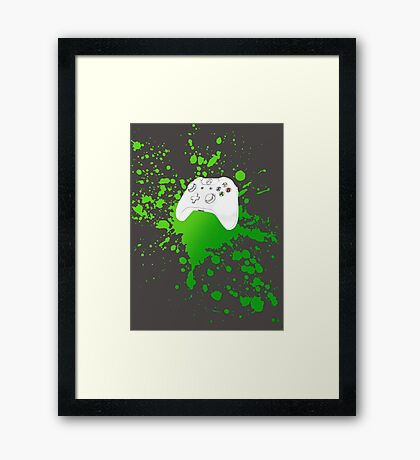 Xbox One Controller Framed Print