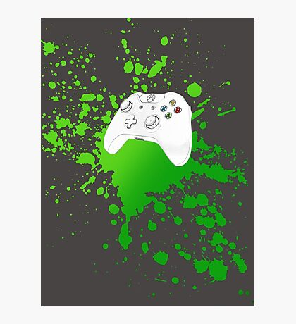 Xbox One Controller Photographic Print