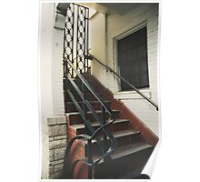Stairway. Poster