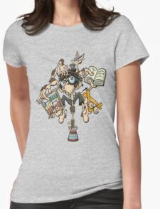 Funny Bird  Womens Fitted T-Shirt