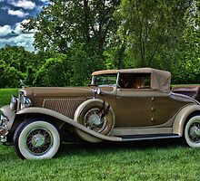 1931 Auburn Cabriolet 8 by TeeMack