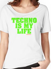 Techno Is My Life Women's Relaxed Fit T-Shirt