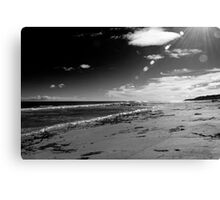St Combs Beach, Aberdeenshire Canvas Print