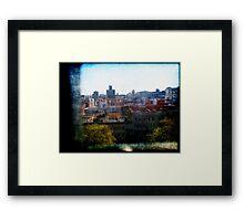 Reminiscing Harlem Framed Print